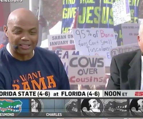 Charles Barkley calls Florida State, Florida 'two ugly girls'
