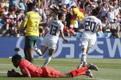 Women's World Cup: South African goalie blunder sparks Germany rout