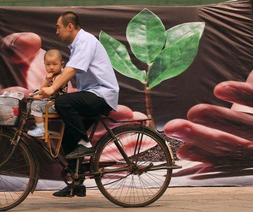 China's footprint getting greener