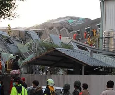 Taiwan earthquake death toll reaches double digits