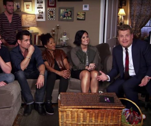 James Corden hosts 'Late Late Show' live from fan's house