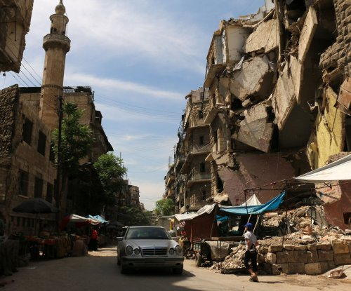 Syrian state-run media reports 10 civilians killed by rebel shelling in Aleppo