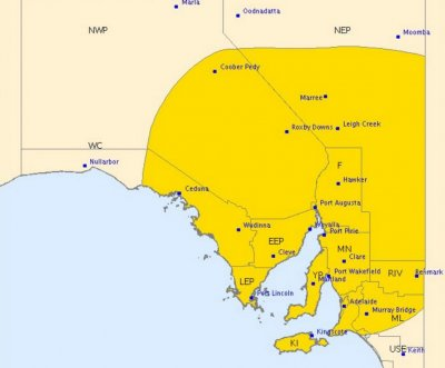 South Australia battered by lightning, high winds