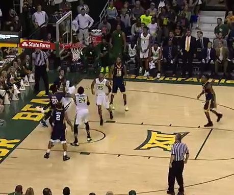 Johnathan Motley helps No. 11 Baylor rally past No. 10 WVU