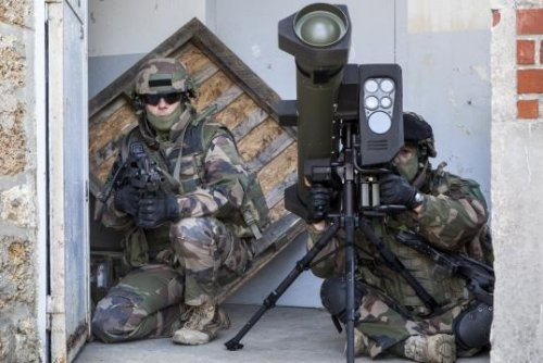 MBDA shows off naval version of MMP guided tank missile