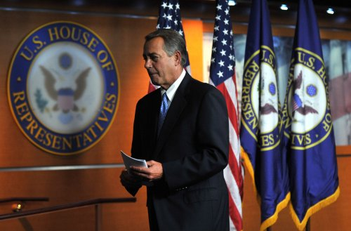 Boehner rebuffs questions about key immigration issue