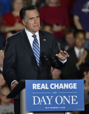 President Mitt Romney, VP Joe Biden serve?