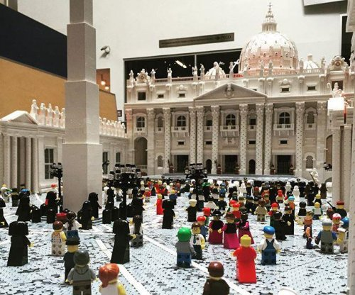 Priest's Lego Vatican on display at Philadelphia museum