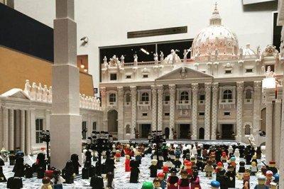 Priest's Lego Vatican on display at Philadelphia museum