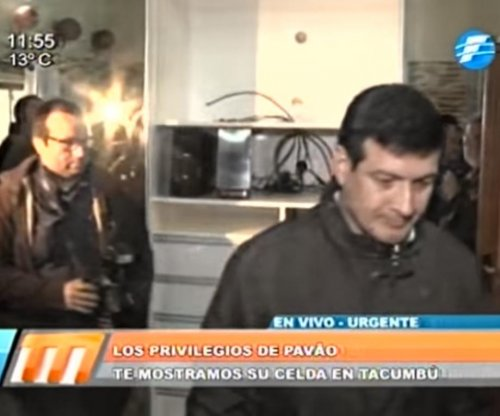 Drug lord's luxurious prison cell has plasma TV, DVD collection in Paraguay