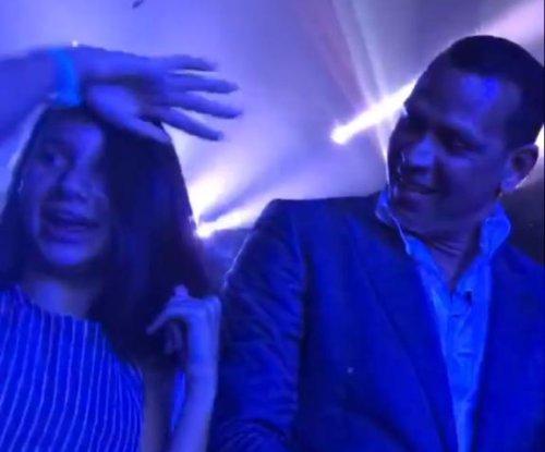 Alex Rodriguez treats daughter Natasha to Jennifer Lopez concert