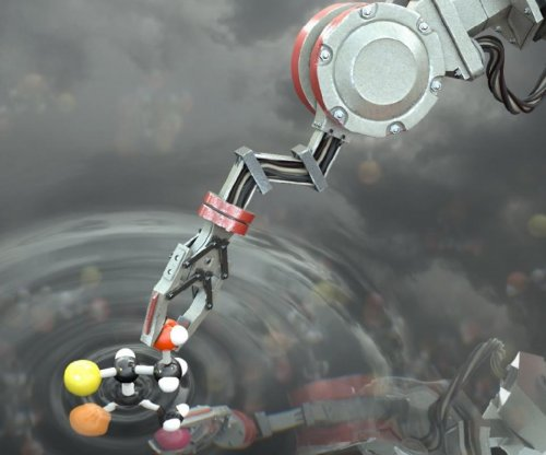 World's first 'molecular robot' can build molecules