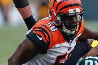 Carl Lawson: Cincinnati Bengals' DE loses teeth against Cleveland Browns