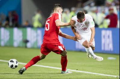 World Cup: Switzerland scoots past Serbia