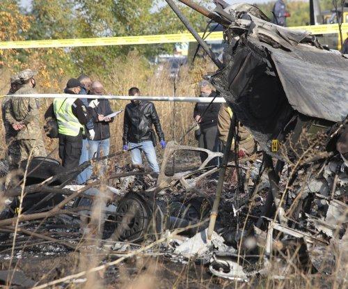 Ukrainian military plane crashes killing 26 mostly students