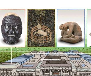 Google honors the Metropolitan Museum of Art with new Doodle