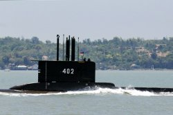 Indonesia military says missing sub will have oxygen until Saturday