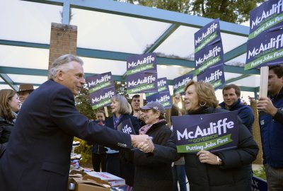 Va., N.J. governor races among U.S. contests