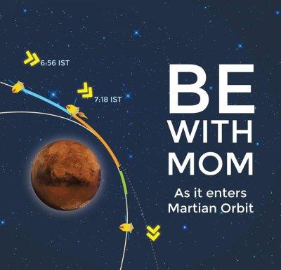 Watch India insert its Mars orbiter live online