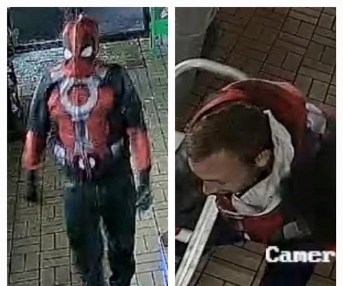 Men in Deadpool costumes break into business, fail to steal ATM