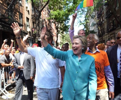 Hillary Clinton enjoys wide support among LGBT community