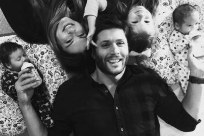'Supernatural' star Jensen Ackles introduces his newborn twins