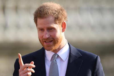 Prince Harry films intro for special 'Thomas & Friends' episode