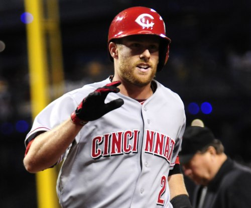 Cincinnati Reds hit four homers in win over San Francisco Giants