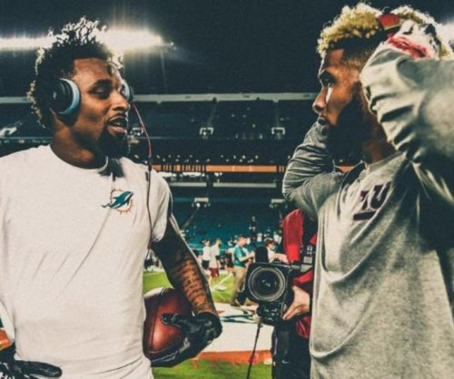 Giants' Odell Beckham Jr. continues to recruit Dolphins' Jarvis Landry