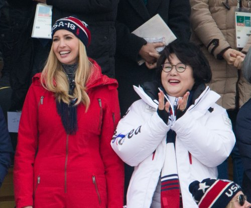 Ivanka Trump watches USA's Mack win snowboarding silver
