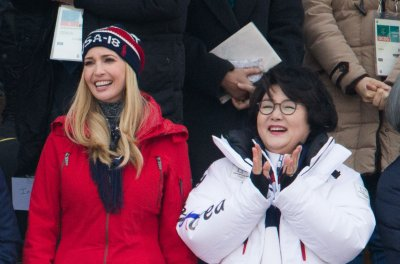 Ivanka Trump watches USA's Mack win snowboarding silver