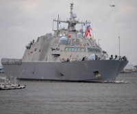 U.S. Navy halts deliveries of littoral combat ships, zeroes in on design flaw