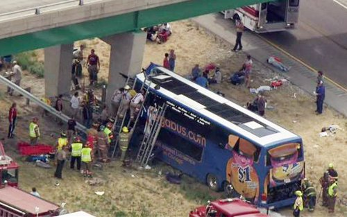 Megabus: Crashed bus inspected last week