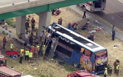 Megabus: Crashed bus inspected last week