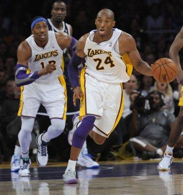 NBA: LA Lakers 105, Oklahoma City 96
