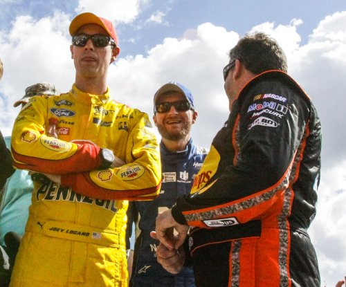 Logano wins Xfinity Series race at Talladega