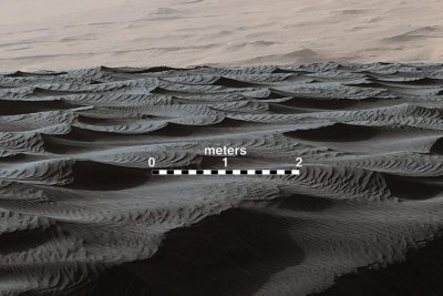 Unusual form of sand dune discovered on Mars