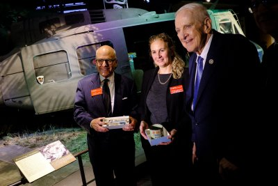 Rep. Sam Johnson donates POW artifacts to museum