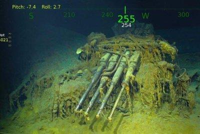 Microsoft co-founder Paul Allen finds sunken WWII aircraft carrier