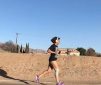 Texas woman runs 15 days in a row for half-marathon world record