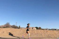 Texas woman runs 15 days in a row for half-marathon world record