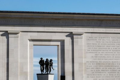 D-Day: British memorial opens in France honoring soldiers killed in Battle of Normandy