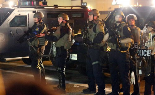 Foreign press ridicules U.S. police tactics in Ferguson