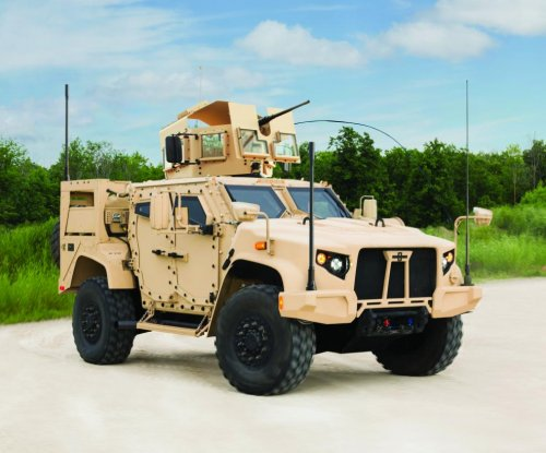 Oshkosh makes bid for Humvee replacement