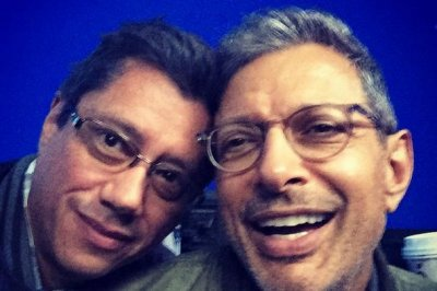 See Jeff Goldblum on set of 'Independence Day 2'