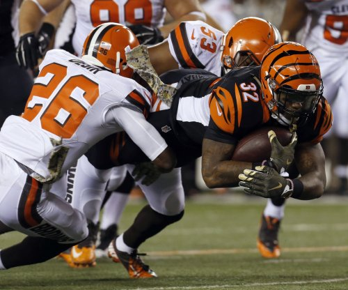Bengals' Jeremy Hill returning to top form