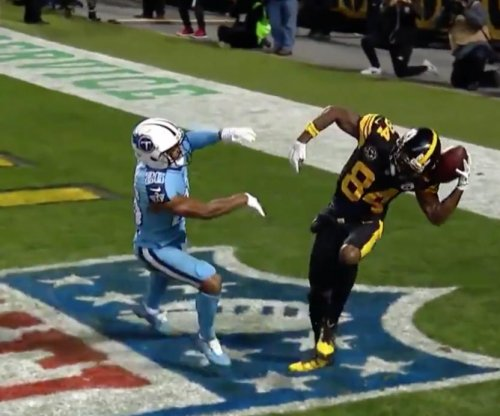 Antonio Brown: You can't miss this helmet catch by the Pittsburgh Steelers star