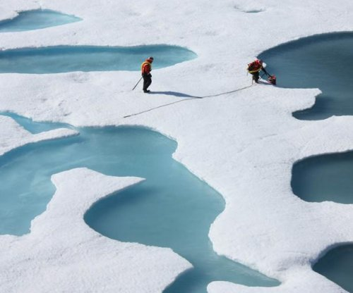 Unusual weather accelerates Arctic sea ice loss