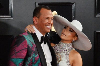 Jennifer Lopez recalls first Valentine's Day with Alex Rodriguez