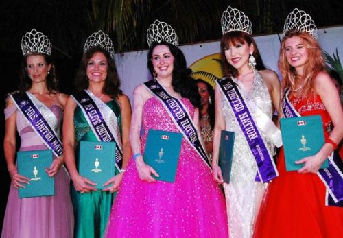 Beauty pageant keeps stealing the U.N.'s style